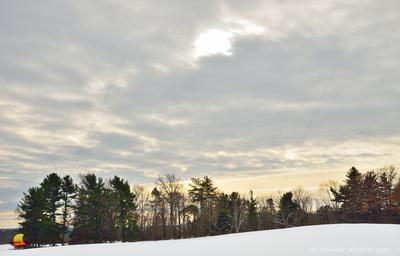 Winter Theme at Knox Farm, East Aurora, New York (NY).