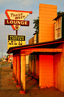 Road Trip Travel Photography, Route 66: Trails West Lounge, Tucumcari, NM