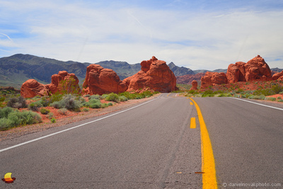Rock Skyline Road, Valley of Fire State Park, Nevada