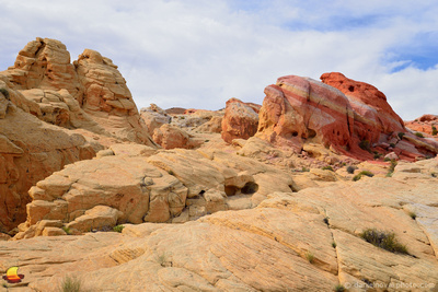 Rock Textures, Valley of Fire State Park in Nevada, not far from Las Vegas.