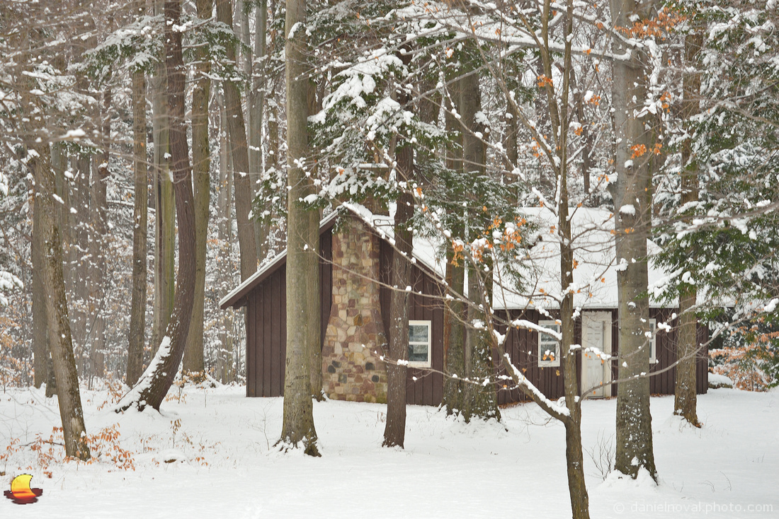 Cottage in the Woods in Winter, Chestnut Ridge Park, Orchard Park, NY
