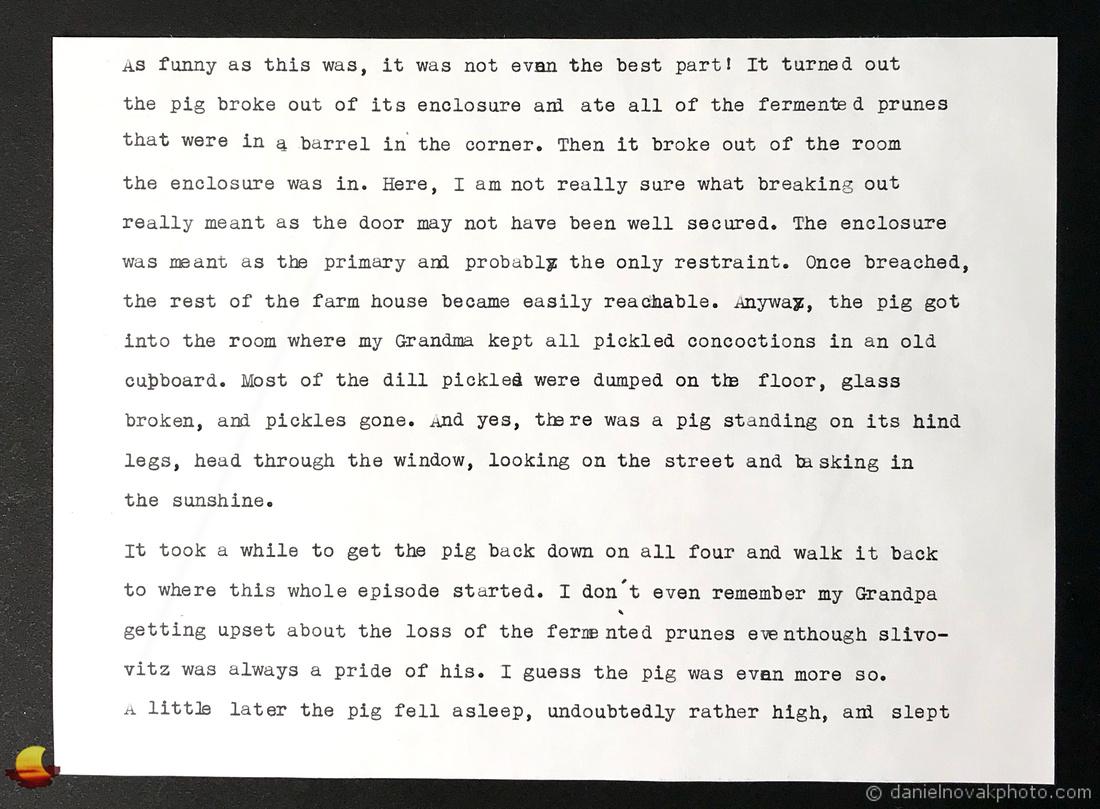Typewriter Blog Part II