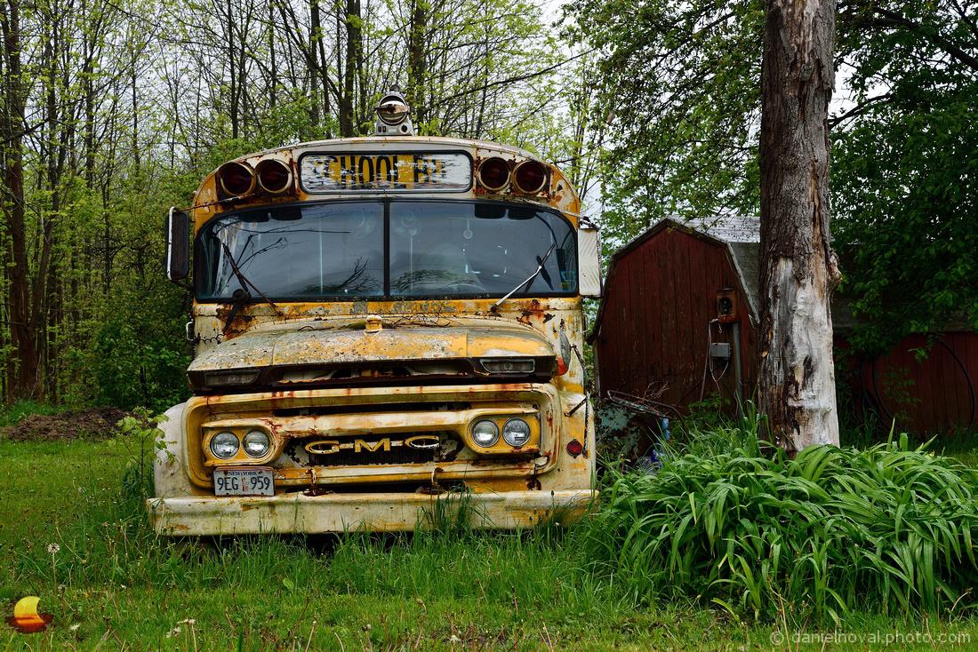Old School Bus, Buffalo, NY Southtowns