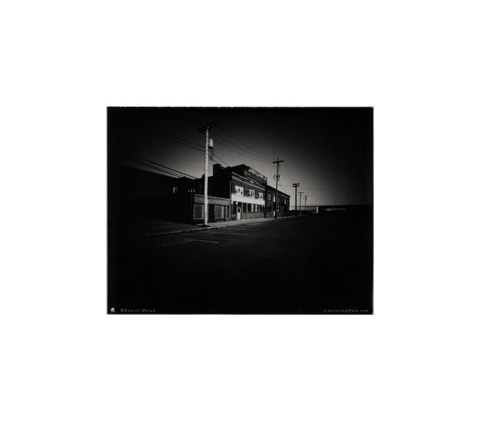 Pinhole Photography: Buffalo X-Ray Co & Fairmont Creamery; A Ghost Town in Buffalo, NY