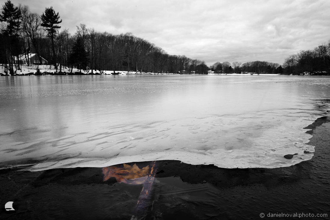 Under the Ice, Green Lake, Yates Park, Orchard Park, NY