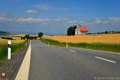 St. Jacob Church on Route 432, Moravia, Czech Republic