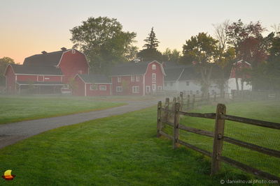 Misty Barns, Knox Farm, East Aurora, NY