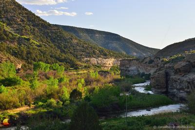 Mesa Creek Canyon, Grand Mesa Scenic Byway - Route 65, Colorado (CO).