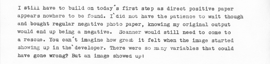 Typewriter Blog, Paragraph 5
