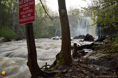 Violators Will Be Prosecuted, Akron Falls Park