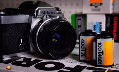 Film Photography: Nikon FE, Loaded with Black & White Ilford Delta 100 Film