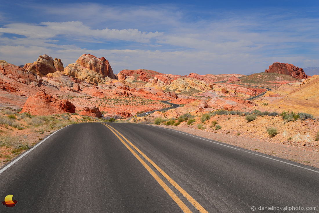 Winding through Mars, Valley of Fire State Park, Nevada