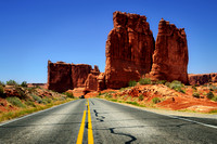 Road to The Organ, Arches National Park, Utah (UT).