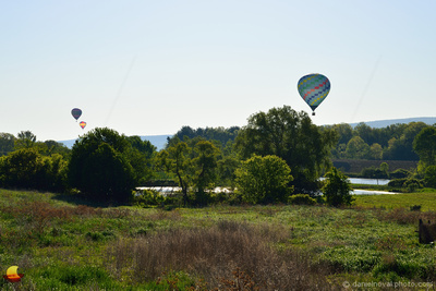 CT Ballooning's Reflections, Over a Pond