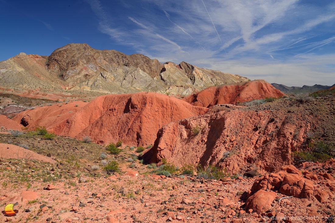 Intense Desert Colors, Nevada Desert near Las Vegas