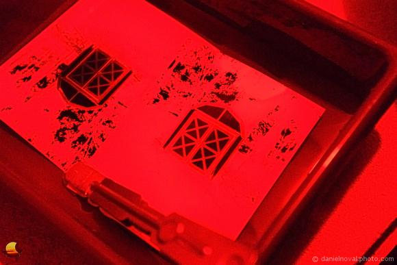 Typewriter Blog, Darkroom in Red