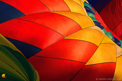 Bright and Happy Colors of Hot Air Balloons, Letchworth State Park
