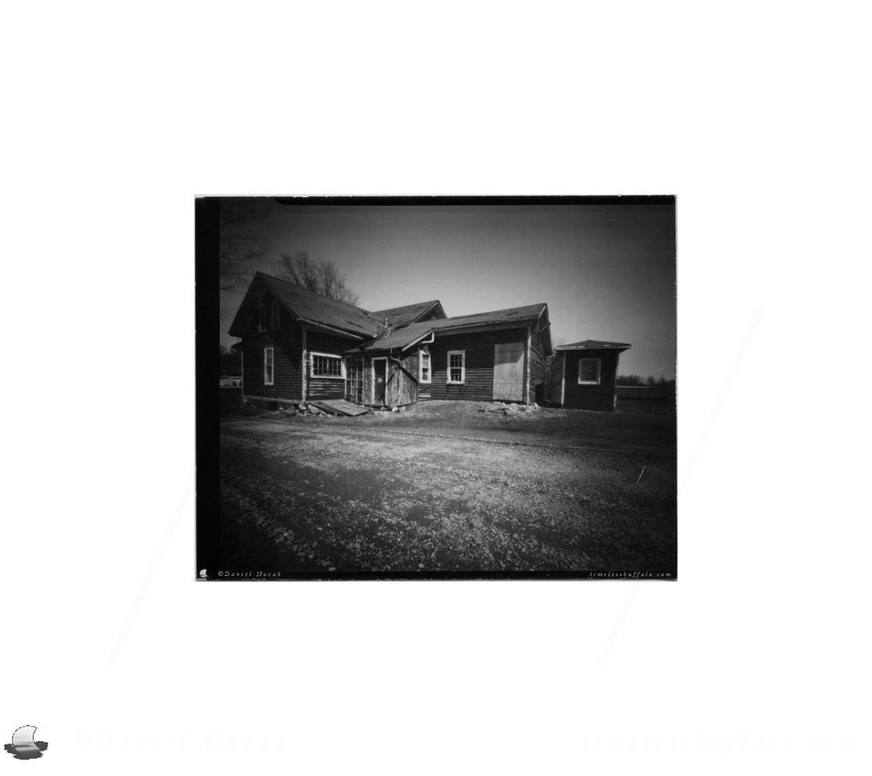 Pinhole Photography: Country House, Knox Farm, East Aurora - Buffalo, NY