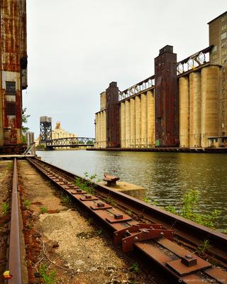 Concrete Giants of Elevator Alley, Grain Elevators of Buffalo, NY